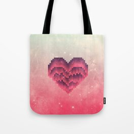 Interstellar Heart IV Tote Bag
