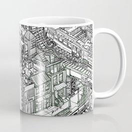 The Town of Train 2 Coffee Mug