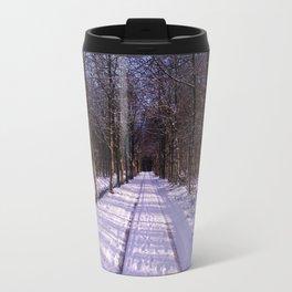 Winter Path Travel Mug
