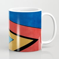road Mugs featuring Road by Liall Linz