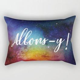 Allons-y! Rectangular Pillow