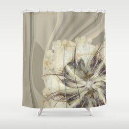Groundlessness Balance Flowers  ID:16165-144053-72851 Shower Curtain