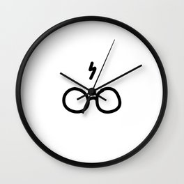 An icon for eternity Wall Clock