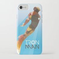 iron maiden iPhone & iPod Cases featuring Iron by Ed Burczyk