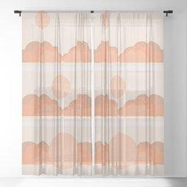 Soleil Sunrise Sheer Curtain