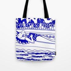 Pool Time Unicorn V2 Tote Bag
