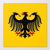 german Canvas Prints featuring German Eagle by Richard Fay
