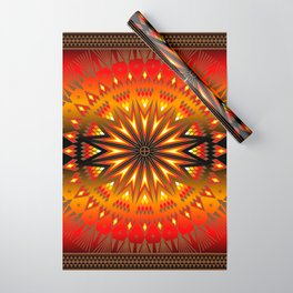 Fire Spirit Wrapping Paper