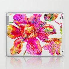 glittering clematis Laptop & iPad Skin