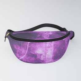 RMB symbol of Chinese currency Yuan Symbol. Monetary currency symbol. Abstract night sky background. Fanny Pack