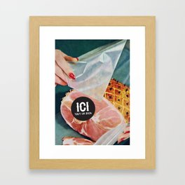 ICI tout va bien // 3 Framed Art Print