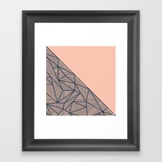 B Rays Geo 2 Framed Art Print