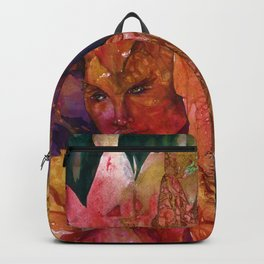 Fire Fairy by Kathy Morton Stanion Backpack