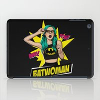batgirl iPad Cases featuring Batgirl by viviennart