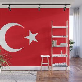 Flag of Turkey, High Quality Wall Mural