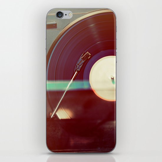 Spin it iPhone Skin