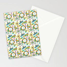 Mexican Fiesta Pinata Pattern Stationery Cards