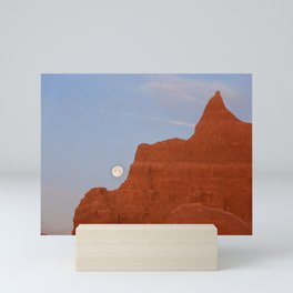 Full Moon Setting Mini Art Print