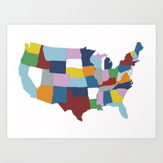 USA #2 Art Print