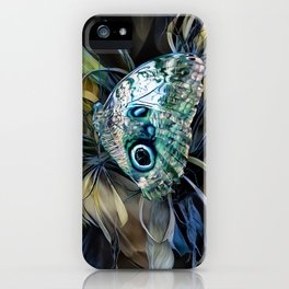 Abalone Butterfly iPhone Case