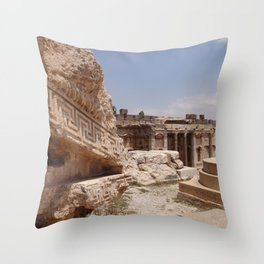 Ancient Remains Throw Pillow