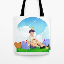 Feathery Friends Tote Bag