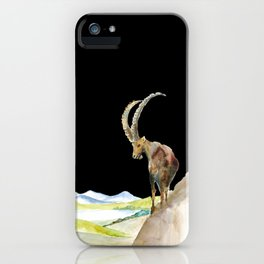 Ibex follow me I dare you iPhone Case