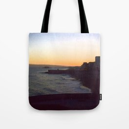 Seafront sunset Tote Bag