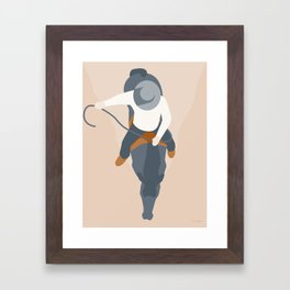 RYTTEREN Framed Art Print