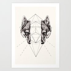 Geometry Within  Art Print