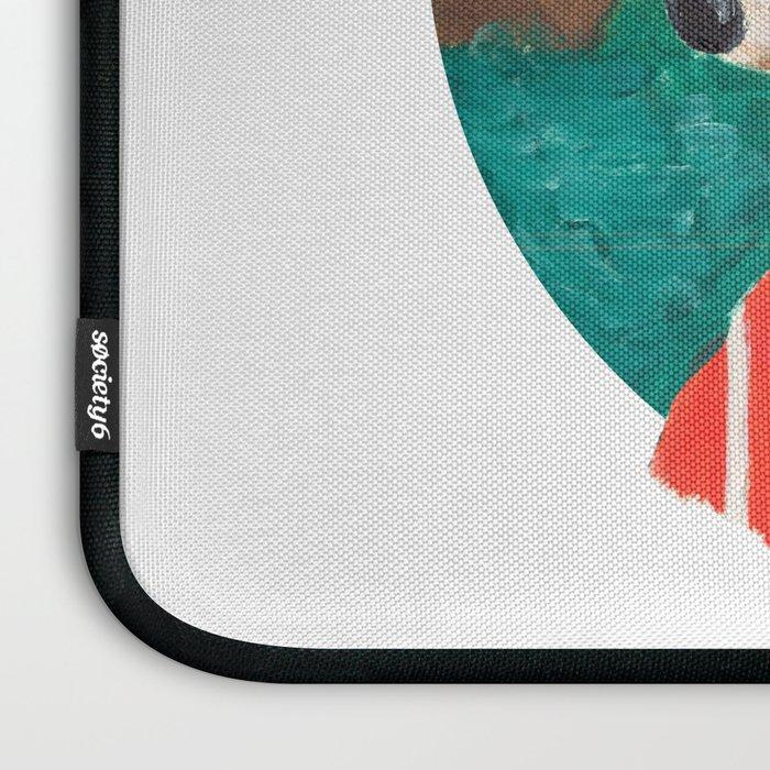 Fox of Lion Laptop Sleeve