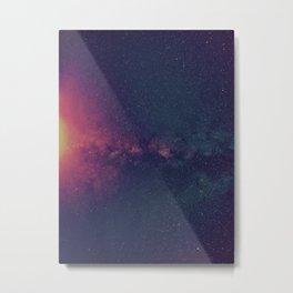 Space Explosion Metal Print
