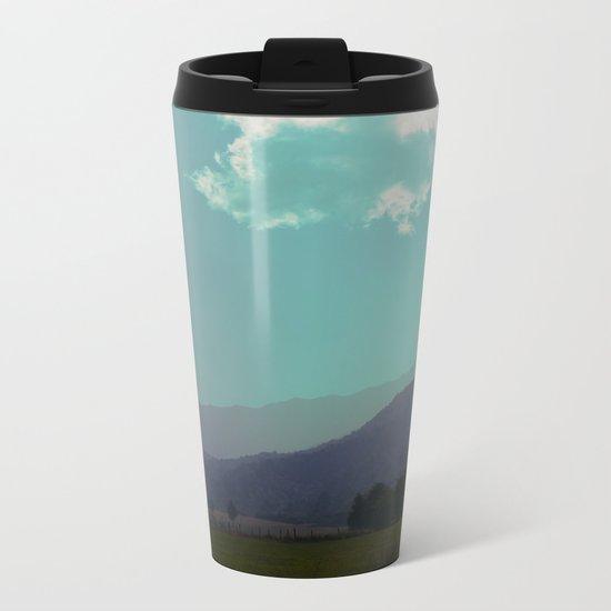 Deep Layers Metal Travel Mug