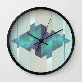Gem Abstract Wall Clock