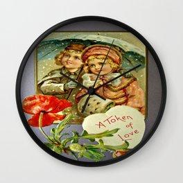 A Token of Love Wall Clock