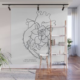 Flowering Left Atrium Wall Mural