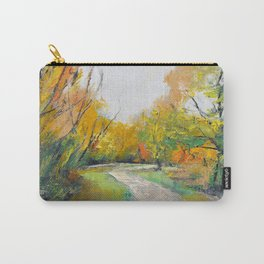 Autumn Woodland Path Carry-All Pouch