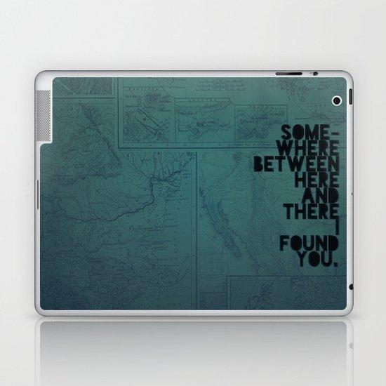 Here & There II Laptop & iPad Skin