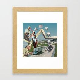 Platonic Forms Framed Art Print