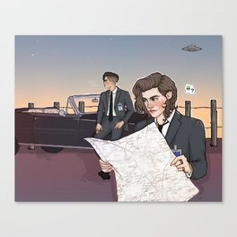 agents styles and malik Canvas Print