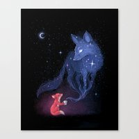 celestial Canvas Prints featuring Celestial by Freeminds