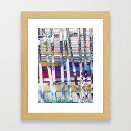 dust⁄l⁄i⁄n⁄e⁄s⁄jewels Framed Art Print