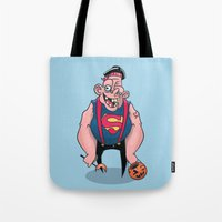 sloth Tote Bags featuring Sloth by Artistic Dyslexia