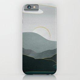 Minimal Landscape 08 iPhone Case