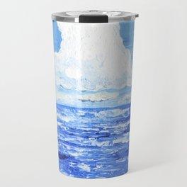 Infinite blue Travel Mug