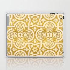 Moroccan Gold || #society6 #decor #buyart Laptop & iPad Skin