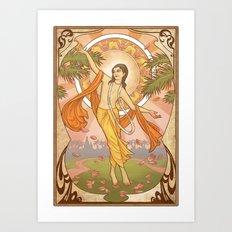 Sri Gauranga Art Print