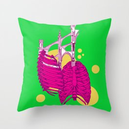 Adam's Rib Throw Pillow