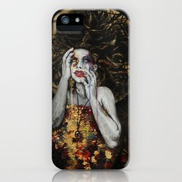 Ophelia's Madness iPhone Case