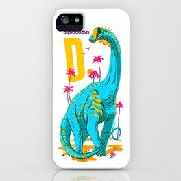 Alphasaurus Rex iPhone Case